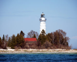 Cana Island Light House from the land