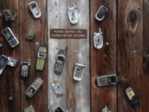 Old cell phones, what to do with them