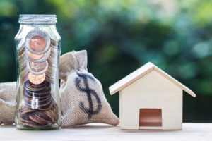 house home equity bag of money